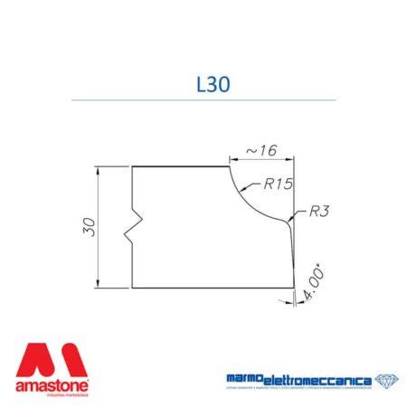 Line Master / Line IW - Profile Wheels L30 - MEM