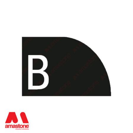 Profile B - Half Bullnose Concave