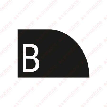 Profile B Half Bullnose Concave
