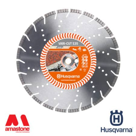 "Cement blade Vari-Cut S45 ""Silver"" for power cutters, masonry saws, floor saws and angle grinder - Husqvarna"
