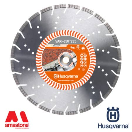 "Granite blade Vari-Cut S35 ""Silver"" for power cutters, masonry saws and floor saws - Husqvarna"