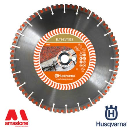 "Granite blade Elite-Cut S35 ""Gold"" for power cutters, masonry saws and floor saws - Husqvarna"