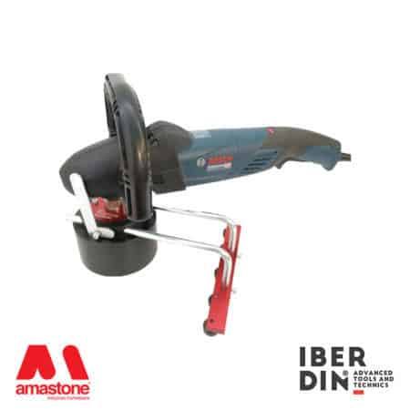 Bush hammer plate for angle grinder diameter 125mm - Iberdin