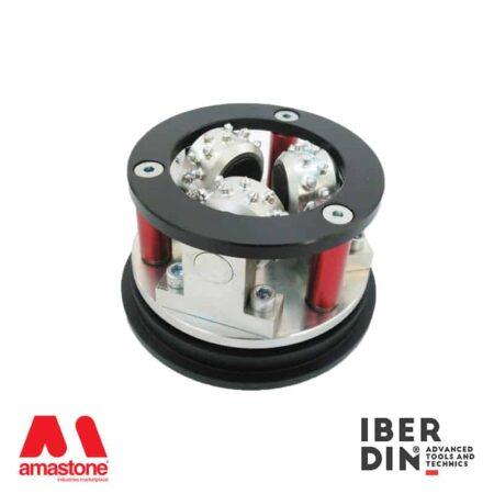 Bush hammer plate for angle grinder diameter 125mm - Iberdin
