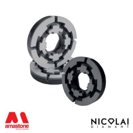 Resinoid polishing wheels Ø100 mm - Magnetic Fitting - Nicolai