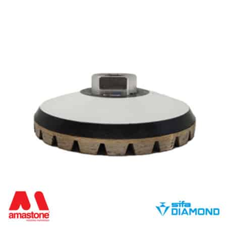 "Diamond cup wheel for granite ""Rubber"" – Sifa"