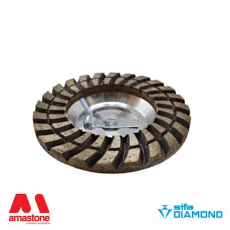 "Diamond cup wheel for granite and concrete ""Silver"" – Sifa"