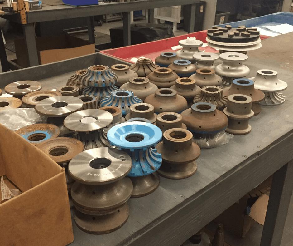Redressing Granite Wheels