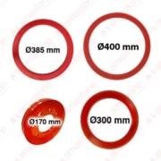 Resin ring for guide wheel Ø 170 300 385 400 mm
