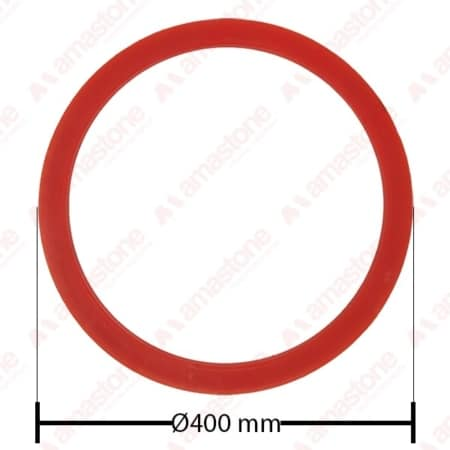 Resin ring for guide wheel Ø 170 300 385 400 mm