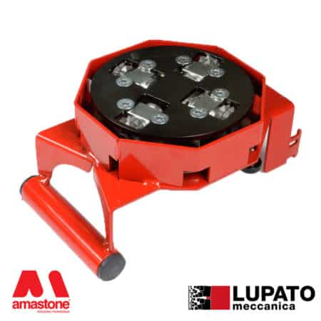 Angle Grinder Bush Hammering Plate Tanga L4/2W7 With Glide - Lupato