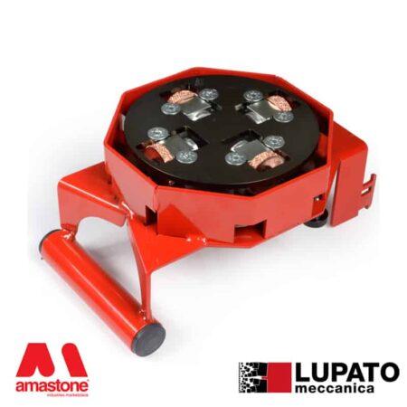 Angle-grinder sandblasting plate - Tanga L4 with glide - Lupato