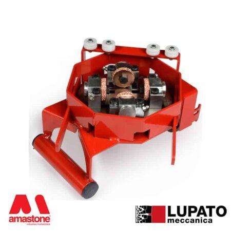 Angle-grinder sandblasting plate - Tanga L4 without glide - Lupato