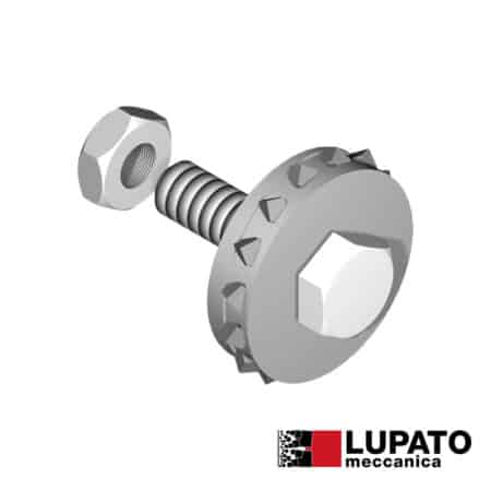 Bush-hammering roller - Tanga L4/22 - Lupato