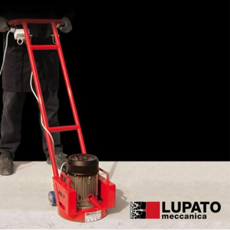 Portable machine for finishes on flat surfaces - VOR - Lupato