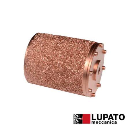 Roller Ø115 mm #1400 for rolling finish for angle grinder - Rollex - Lupato