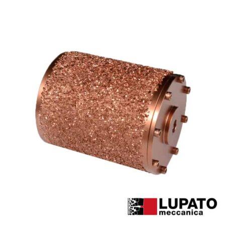 Roller Ø115 mm #2000 for rolling finish for angle grinder - Rollex - Lupato