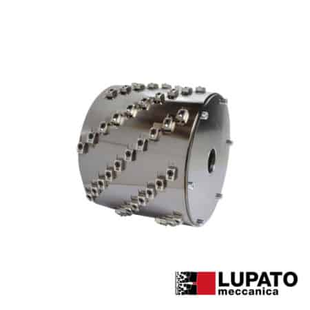 Roller Ø300 mm / width 200 mm for scratching for bridge saw - Lupato