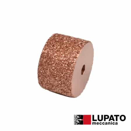 Roller Ø80 mm #1400 for rolling finish for angle grinder - Rollex - Lupato