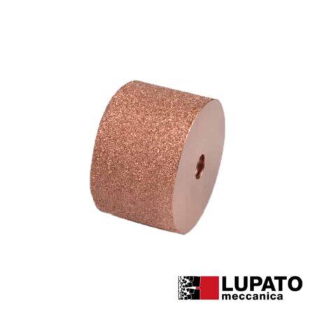 Roller Ø80 mm #400 for rolling finish for angle grinder - Rollex - Lupato
