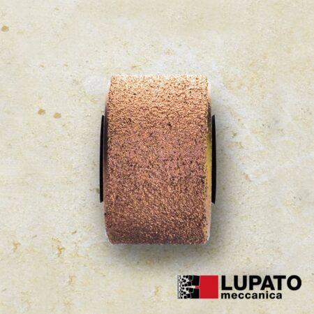 Roller #400 for sandblasting granite - Dia-Abrax - Lupato