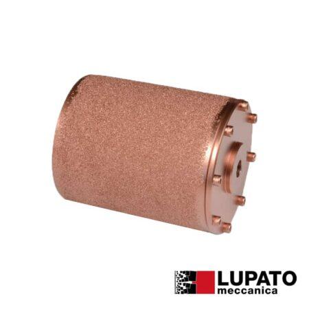 Roller W. 140 mm / #400 for rolling antiskid - Dia-Rollex - Birba - Lupato