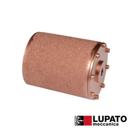 Roller W. 140 mm / #400 for rolling antiskid - Rollex - Birba - Lupato