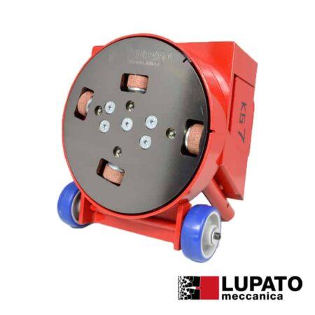 Sandblasting finish plate - VOR - Lupato
