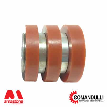 Slab holder wheels - Comandulli
