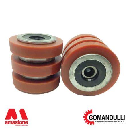 Slab holder wheels - Comandulli
