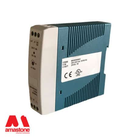 Power supply with DIN connection