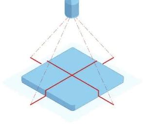 Cross Pointer Laser Amastone