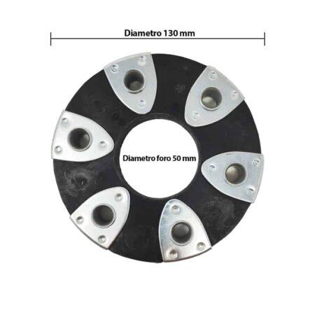 Flexible couplings diameter 130 mm