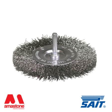 Circular brush with shank SE-CR - Sait