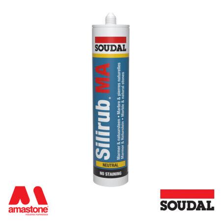 Silicone sealant for marble Silirub MA - Soudal