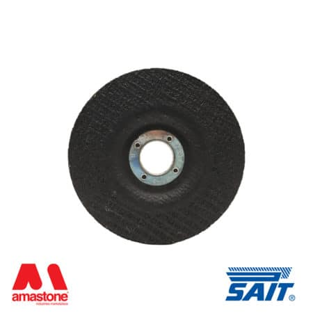 Depressed centre grinding wheels for stone deburring Premium-DS – SAIT