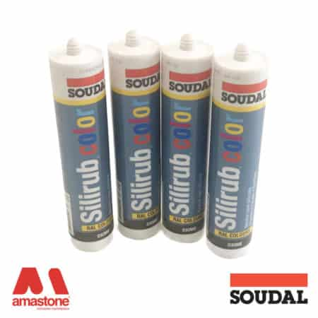Silicone Silirub Color sealant - Soudal