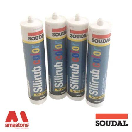 Silicone Silirub Color sealant -Soudal