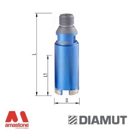 Segment core bits – Granite, Engineered stone – Diamut