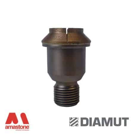 Core drill bit with countersink for Intermac aggregate - Glass - Diamut