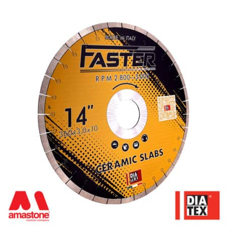"High-speed ceramic cutting blade ""Faster"" - Diatex"
