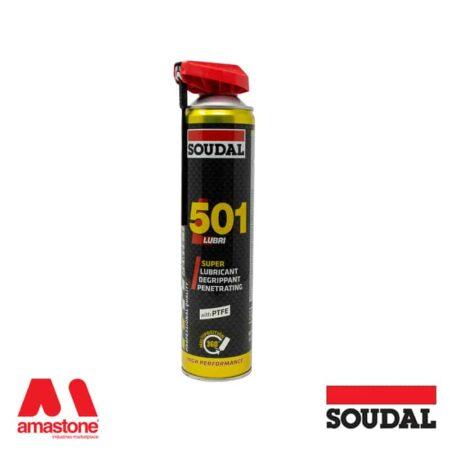 """Professional lubricant spray """"501 Lubri"""" - Soudal"""