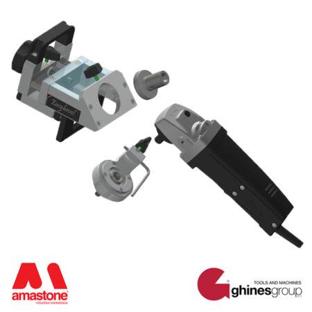 Bevelling machine for angle grinder - Ghines Easybevel