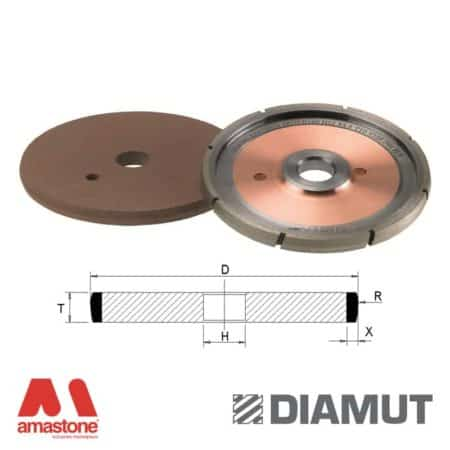 Wheels for grooving - Glass - Diamut