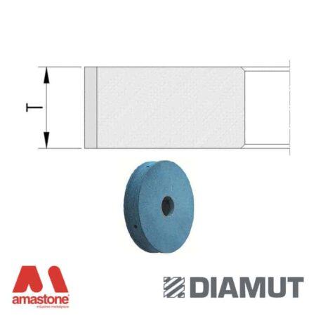 Polishing Wheels Shiny Flat Edge Ø100 Mm Glass Diamut