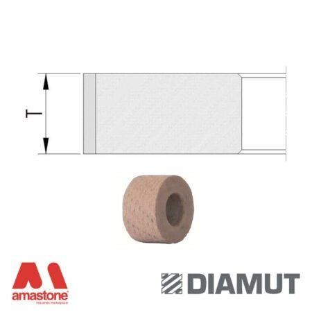 Polishing Wheels Standard Flat Edge Ø25 Mm Glass Diamut