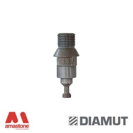 Trapezoidal router (FA) dia 10 mm - Glass - Diamut