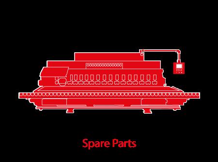 Edge Polishers and Polishing machines Parts