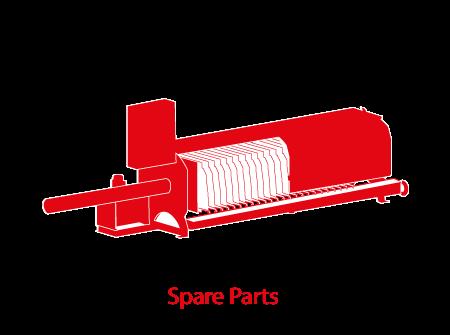 Filter presses Parts