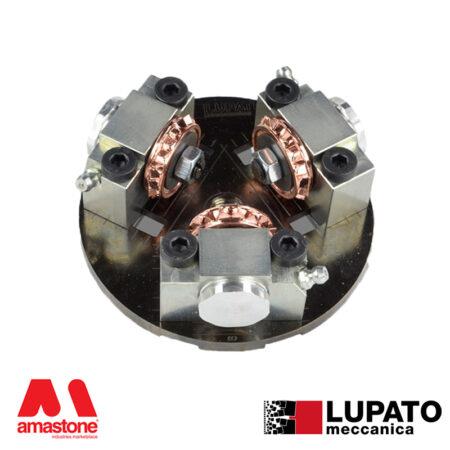 Angle-grinder bush-hammering plate – Tanga L3/19 – Lupato